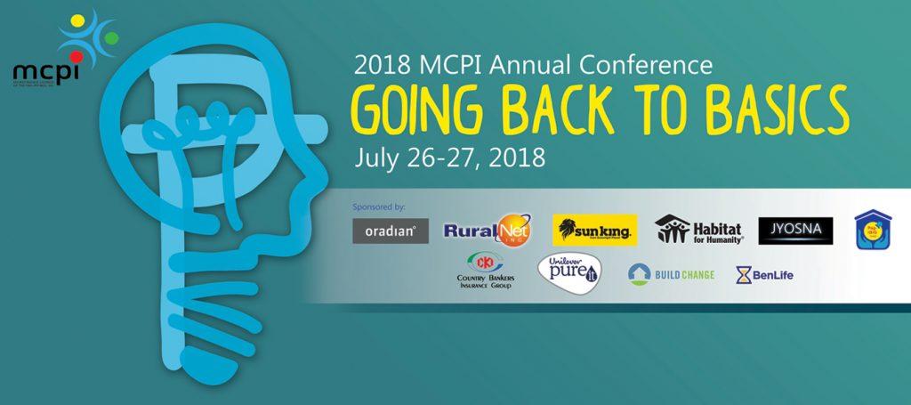 MCPI 2018 Annual Conference -